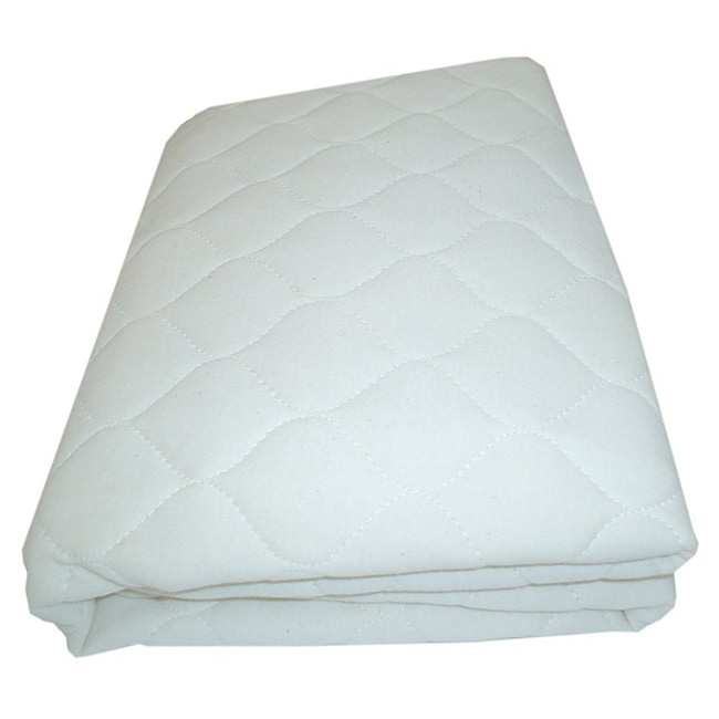 Abc Organic Quilted Crib And Toddler Mattress Pad