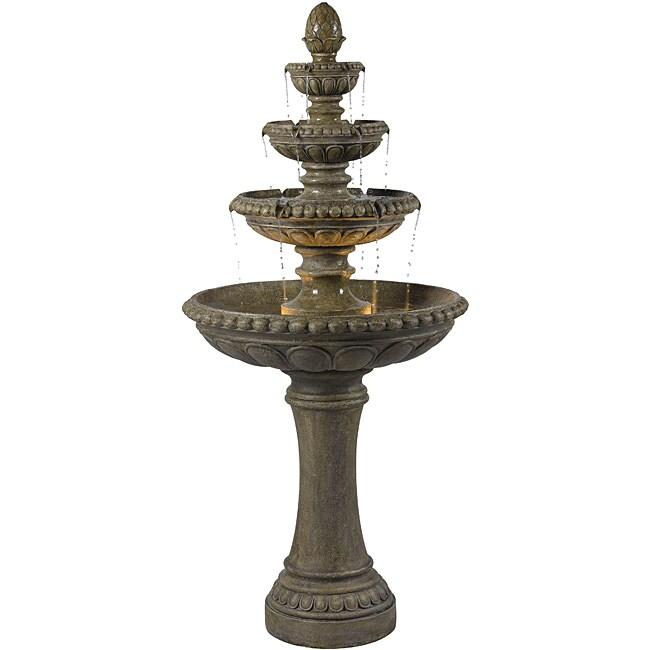Thaumas Outdoor Floor Fountain 14119972 Overstock