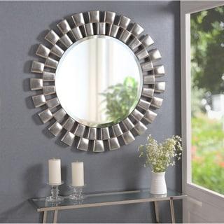 Coeus Silver Plate Wall Mirror 14123611 Overstock Com