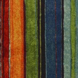 Rainbow Multi Stripe Rug 2 6 X 3 10 Overstock Shopping
