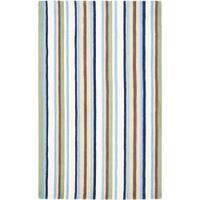 Safavieh Handmade Children's Stripes Cotton Rug - 3' x 5'