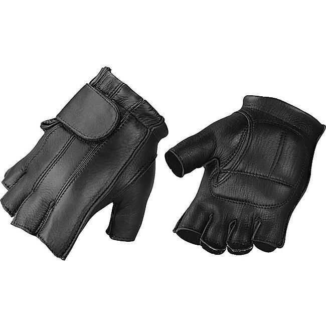Raider Men S Deluxe Fingerless Leather Gloves 14154937