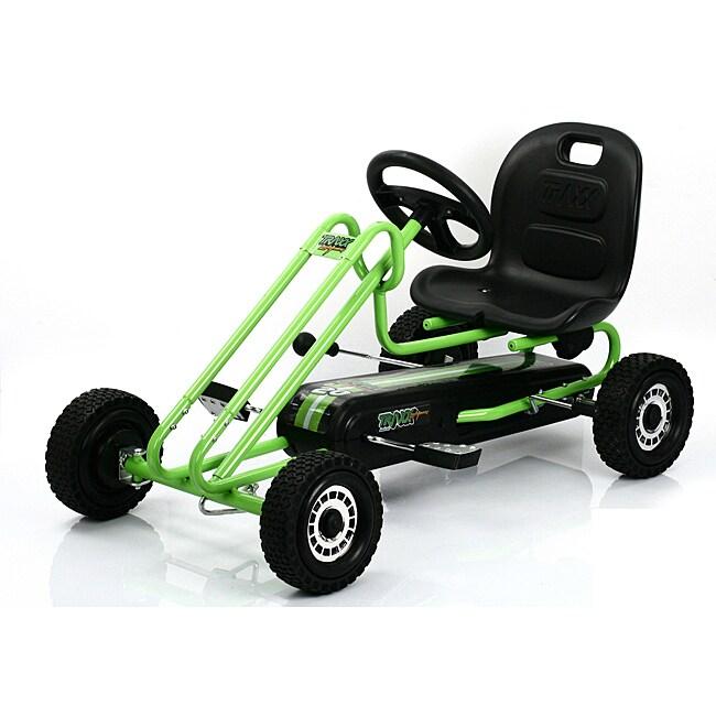 Traxx Race Green Lightning Pedal Go Kart 14161660