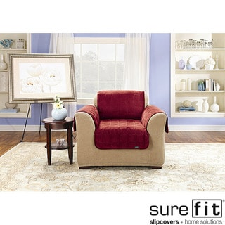 Sure Fit Deluxe Pet Mini Check Chair Cover 16323380