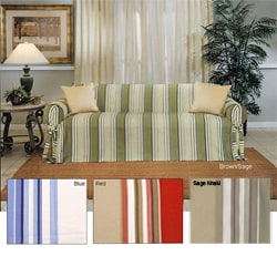 Classic Stripe Chair Slipcover