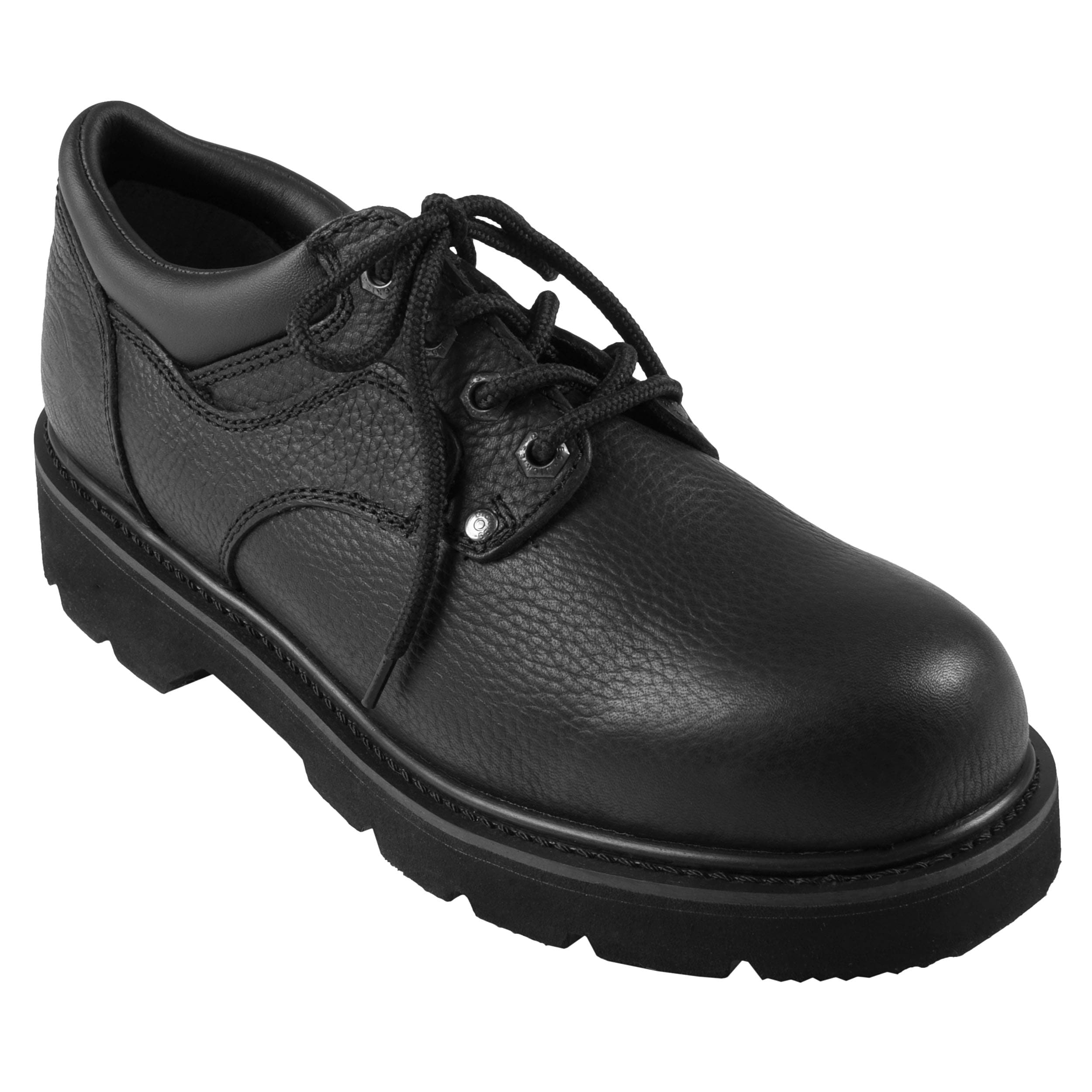 Dickies Men S Wide Oxford Lug Sole Genuine Leather Lace Up