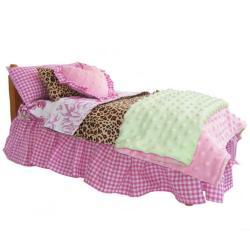 Annloren 7 Piece Shabby Doll Bedding Set 13065506