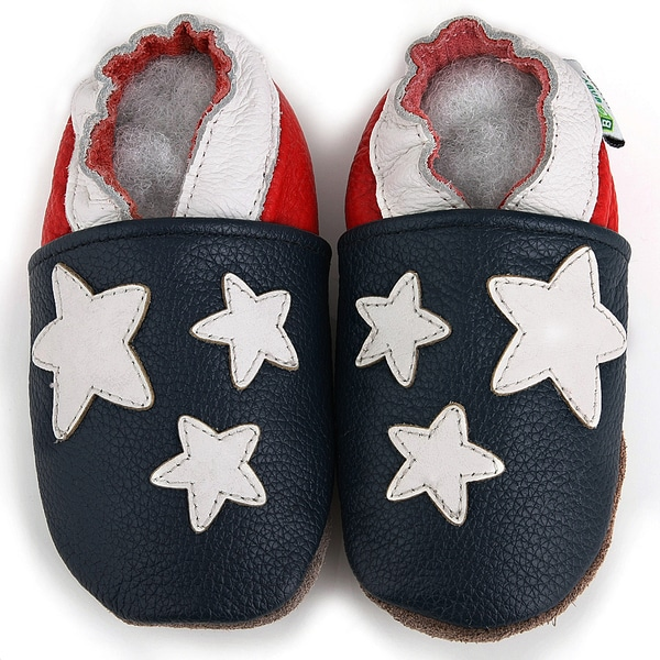 Orca Whale Leather Baby Shoes