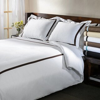 Superior Hotel Collection 300 Thread Count Cotton Sateen Duvet Cover Set