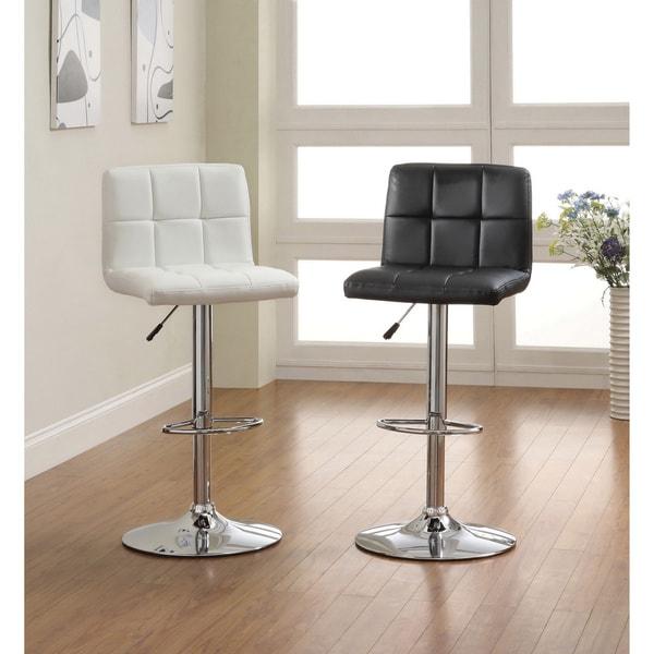 Stools Overstock: Furniture Of America The Comfy Doris Leatherette Bar Stool