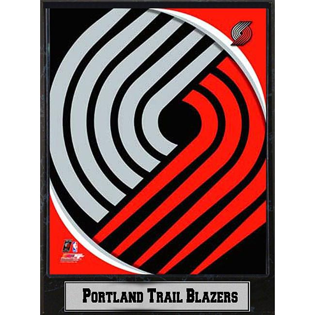 Portland Trail Blazers Art: Portland Trail Blazers 2011 Logo Plaque