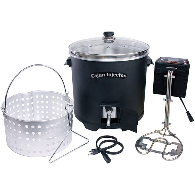 Electric Turkey Fryer 14177591 Overstock Com Shopping