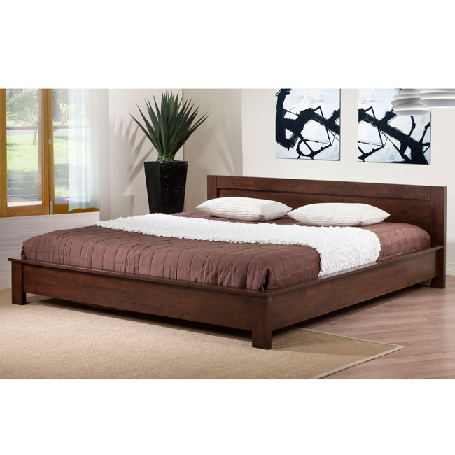 Alsa king size platform bed 80004549 for Mobilia king size bed