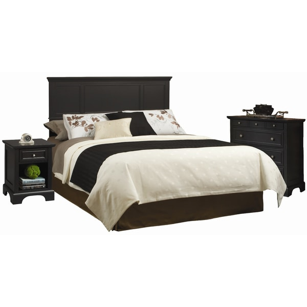 Home Styles Bedford Queen Full Headboard Night Stand And