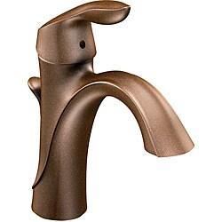 Moen Brantford Low Arc Brushed Nickel Bathroom Faucet