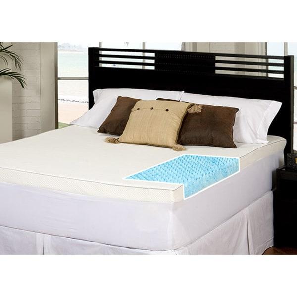 Slumber Solutions Gel Highloft 4-inch Twin/ Full-size ...