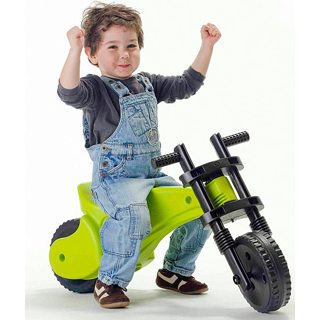 Ybike Green-and-black Injection-molded Plastic Toddler ...