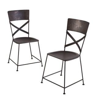 Red Kullu Metal Chair India 14732198 Overstock Com