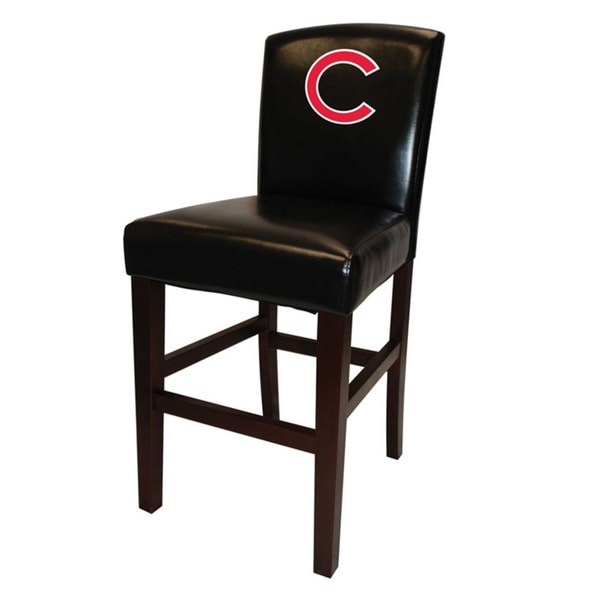 Mlb Chicago Cubs Black 24 Inch Counter Stool Overstock