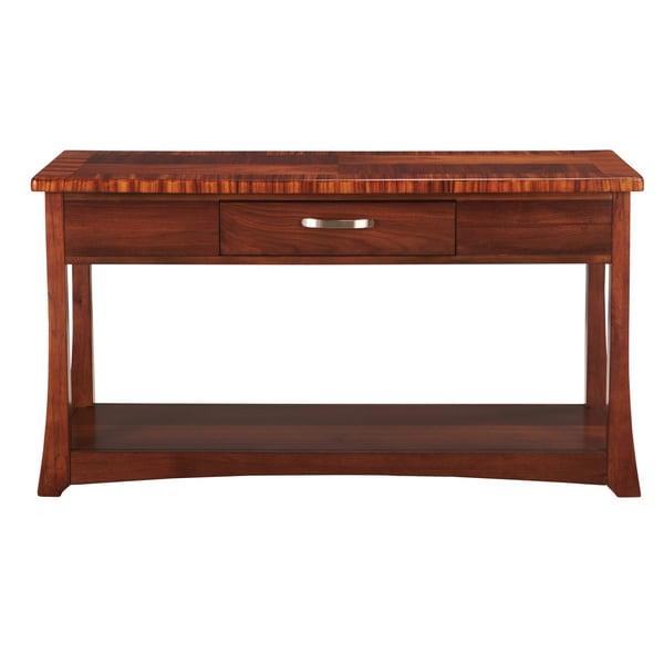 Somerton Dwelling Milan Sofa Table 14215838 Overstock