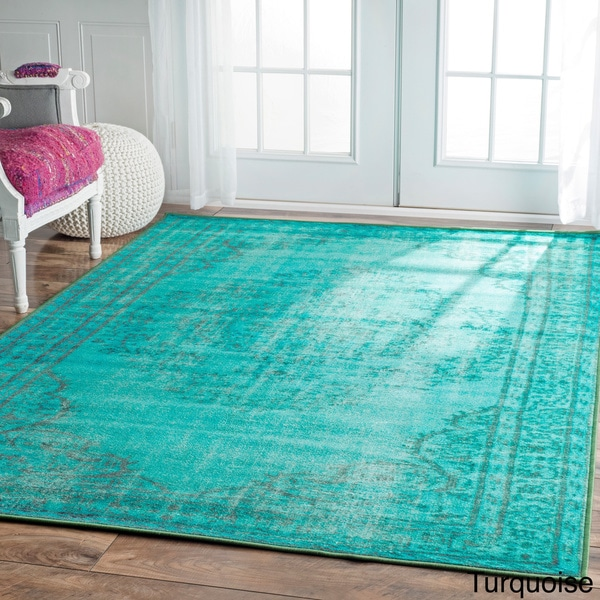 Nuloom Vintage Inspired Overdyed Rug 8 X 10 14220351
