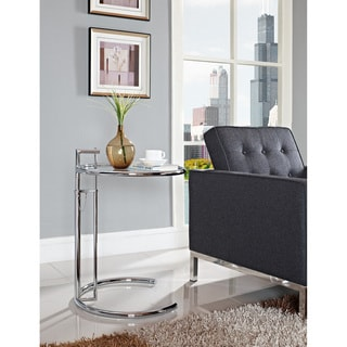 Eileen Gray Stainless Steel Accent Table 10537708