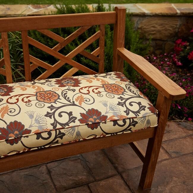 Clara Grey Rust Indoor Outdoor 60 Inch Sunbrella Fabric