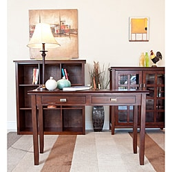 stratford auburn brown console sofa table overstock Cotail Table Overstock Cream Sofa Table
