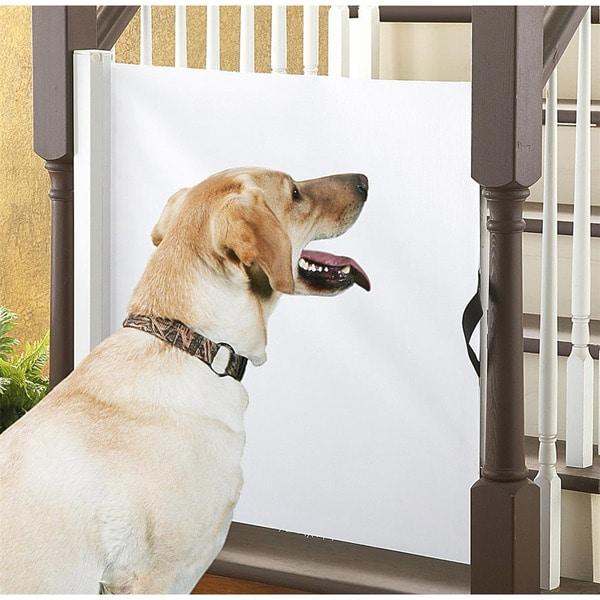 Pet Parade Retractable Gate 14245322 Overstock Com