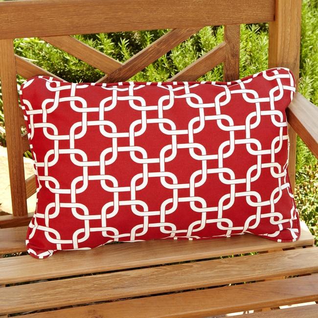 Penelope Red Indoor Outdoor Pillows Set Of 2 14248223