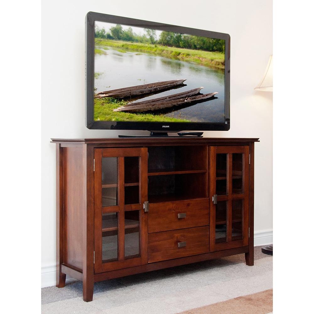 Console Cabinet Furniture: TV Stand Media Center Storage Furniture Entertainment