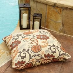 Textured Sage Knife Edge Outdoor Pillows With Sunbrella