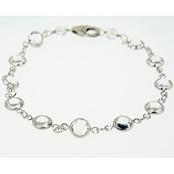 Multi Colored Marble Amp Crystal Stretch Bracelet 13027351
