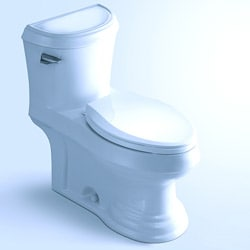 Olean Contemporary European Toilet With Single Flush And