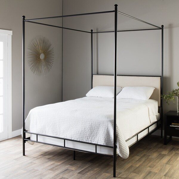 The Curated Nomad Lauren King Metal Canopy Bed 399 99