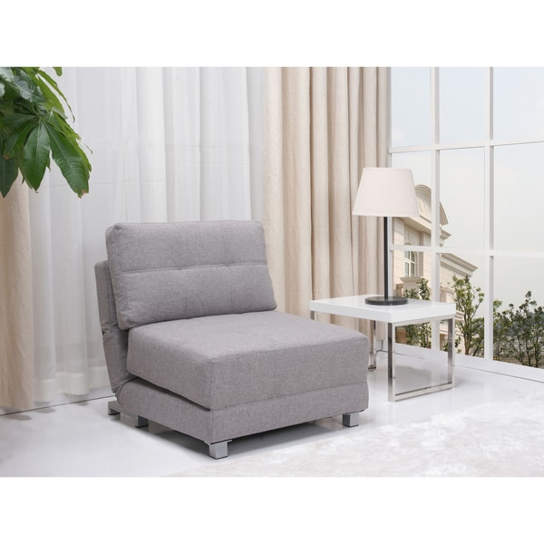 New York Ash Convertible Chair Bed 14278390 Overstock