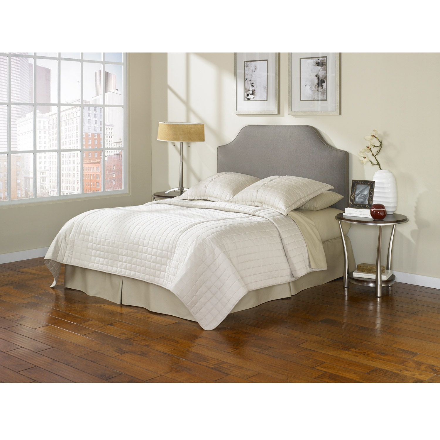 Fashion Bed Bordeaux Taupe Queen Full Size Headboard