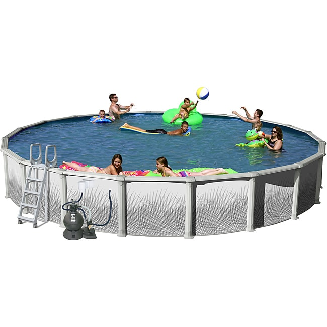 Hamilton 18 Foot All In 1 Above Ground Swimming Pool Kit