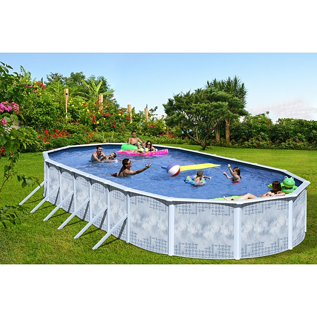Quest 24 Foot All In 1 Above Ground Swimming Pool Kit
