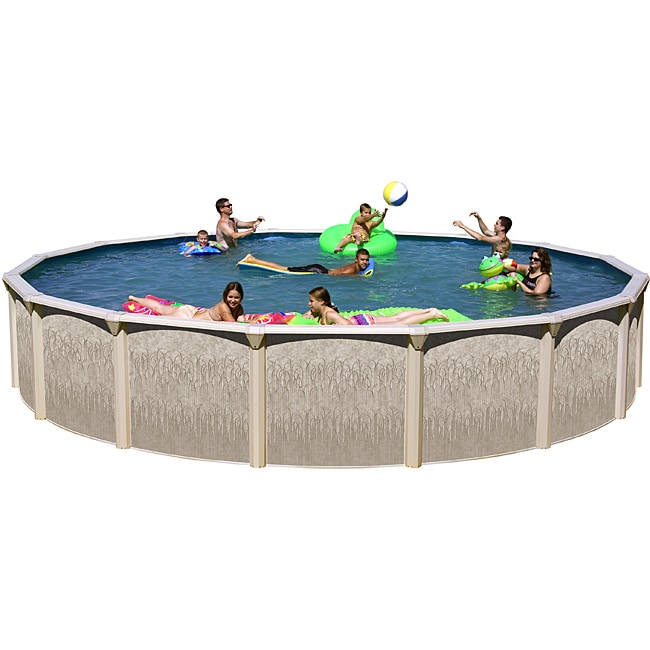 Galveston 18 Foot All In 1 Above Ground Swimming Pool Kit