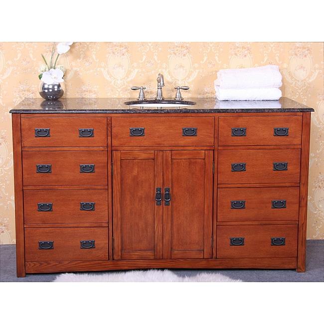 Granite top 60 inch single sink bathroom vanity 14283163 - 60 inch bathroom cabinet single sink ...