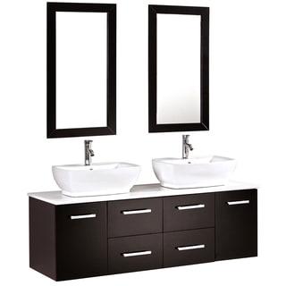wall cabinet bathroom cabinets   storage overstock com White Bathroom Wall Cabinets Office Doors with Wall Cabinets