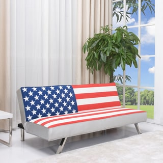 Super Sale American Flag Futon Sofa Bed Ynmi9658H Onthecornerstone Fun Painted Chair Ideas Images Onthecornerstoneorg