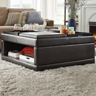 Furniture Of America Cottage 2 Drawer Coffee Table