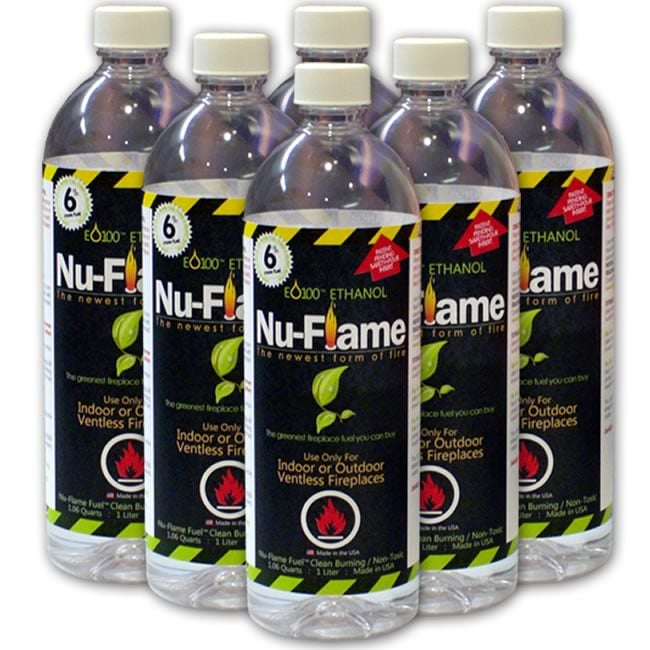 Nu Flame Liquid Bio Ethanol Fireplace Fuel With Safety