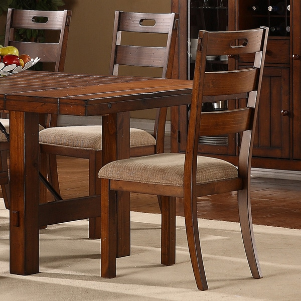 Oak Dining Room Furniture: Swindon Rustic Oak Classic Dining Chair Set Of 2 Room