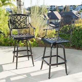 Santa Maria Bar Stool (Set of 2) by Christopher Knight Home