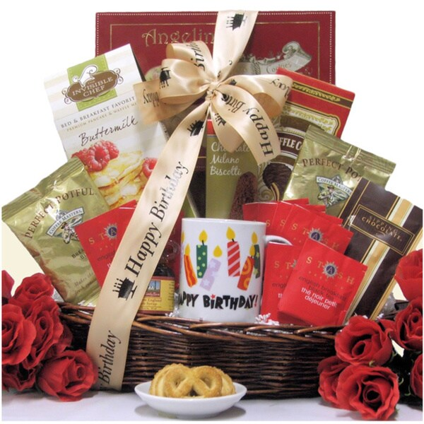 Great Arrivals Rise Shine On Your Birthday Gourmet Gift Basket