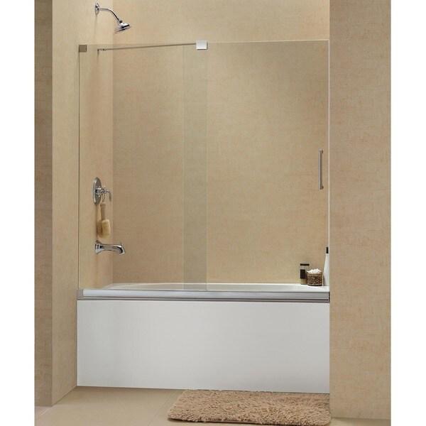 Dreamline Mirage 56 To 60 Inch Frameless Sliding Tub Door