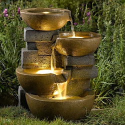 Outdoor Fountains | Overstock™ Shopping - Big Discounts on Outdoor ... - Outdoor Deck And Water Feature Japanese Room